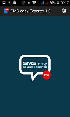 SMS easy Exporter for Android